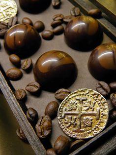Csokoládé Reformer: Kávés kardamomos bonbon