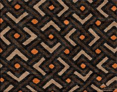 Shoowa - African Custom Area Rug, Design your own at www.HighCountryRugs.com!