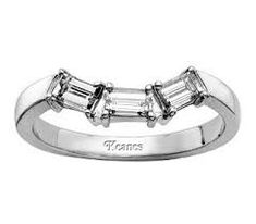 A wedding band vote… emerald cut engagement ring - Weddingbee