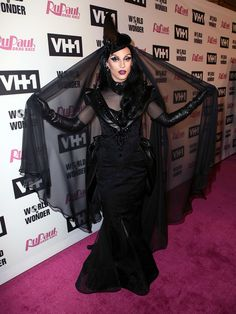 """TV personality Miz Cracker attends VH1's """"RuPaul's Drag Race"""" Season 10 Finale at The Theatre at Ace Hotel on June 8, 2018 in Los Angeles, California."""