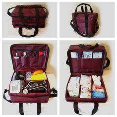 <p>Using the Nursing Bag assists nurses to deliver safe, timely, and efficient care for our clients.</p><p>As nurses, we carry around many items. Blood pressure monitors, bloo...