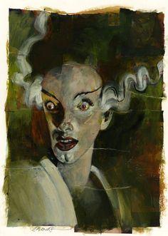 Frankensteinia: The Frankenstein Blog: The Art of Frankenstein : Dave McKean