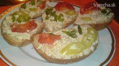 Jemná vajíčkovo-šunková nátierka (fotorecept)