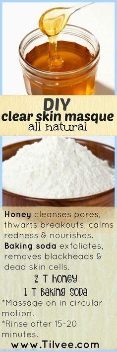 Miel & bicarbonate