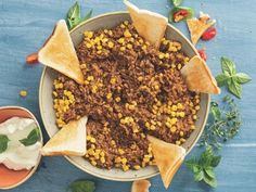 Eenpot-maalvleis-en-rysgereg Mince Meat, Acai Bowl, Recipies, Breakfast, Food, Acai Berry Bowl, Recipes, Morning Coffee, Essen