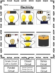 science worksheets for 4th grade on electricity acumen electrical current 2 natural science. Black Bedroom Furniture Sets. Home Design Ideas
