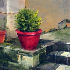 The Red Pot by Liza Hirst