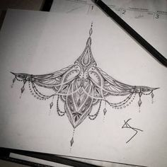 under boob sternum tattoo designs - Căutare Google