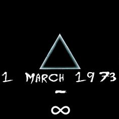 farrewu:  The Dark Side of the Moon -42 Years today.