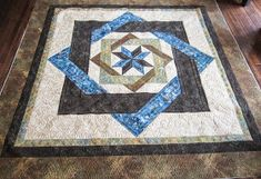 Sue Daurio's Quilting Adventures: Labyrinth Done - updated Log Cabin Quilt Pattern, Barn Quilt Patterns, Star Quilts, Quilt Blocks, Labrynth Quilt Pattern, Quilting Board, Quilting Ideas, Quilt Of Valor, Custom Quilts