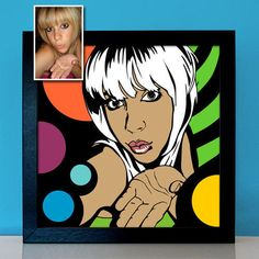 Personalisiertes Pop Art Portrait nach Foto Pop Art Bilder, Pop Art Portraits, Creative, Poster, Anime, Fictional Characters, Etsy, Pictures, Gift For Boyfriend