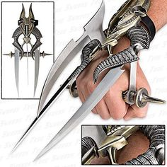 I found 'Alien Futuristic Spiked Tri-Blade Hand Claw' on Wish, check it out!