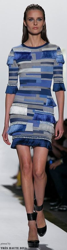 #NYFW Herve Leger Spring 2014 RTW www.nytimes.com/...