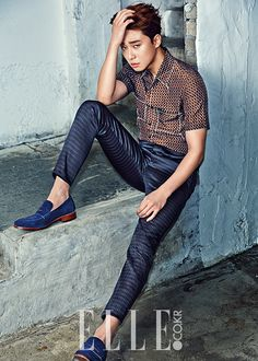pic of park seo joon | South Korea Addict: Elle June 2015 - Park Seo Joon