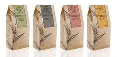 Artea   Tea package by Masha Ponomareva, via Behance