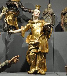 St Agatha of Siciliy | http://saintnook.com/saints/agathaofsicily/ | Heiligenstatuen VLM 01.jpg