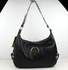 Tory Burch Small Size Leather Black Shoulder Bag [TB023] - $160.00 : Designer Shoes & Flats, Handbags & Accessories | Tory Burch   $160.00