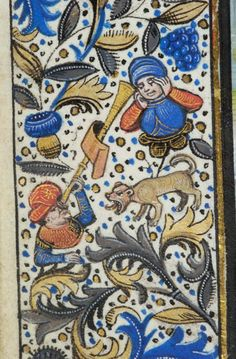 Book of Hours, MS H.7 fol. 49v - Images from Medieval and Renaissance Manuscripts - The Morgan Library & Museum