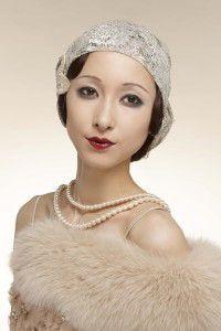1920年代/大正ロマンのモダンガール 全部同じ女性…!?資生堂が日本女性100年のメイク変化を再現した写真がすごい