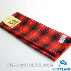 Clan MacIver Tartan Wool Scarf