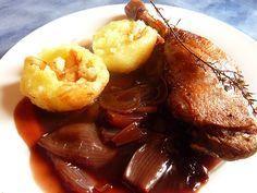 Entenkeulen mit Rotweinschalotten, ein sehr schönes Rezept aus der Kategorie…