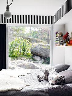 huge window in the #bedroom