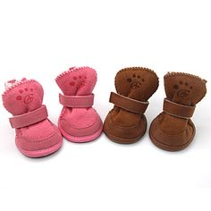Encantadores Zapatos de Velcro para Perros - Colores Surtidos, XS-XL, 4 Unidades 424082 2016 – €7.83