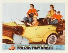 Follow That Dream - Lobby card