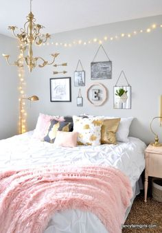Girl's Room Makeover – All Things Thrifty
