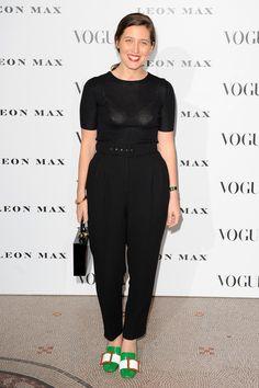 Emilia Wickstead à la soirée Vogue 100