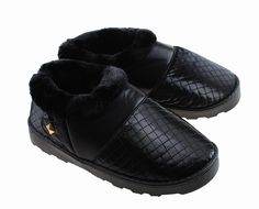 Colorfulworldstore Unisex Side seam Plush Home cotton Slippers boot style warm winter Plush PU indoor slippers >>> Check this awesome image : Winter Shoes Shoe Boots, Shoes Heels, Snow Boots Women, Slipper Boots, Outdoor Woman, Winter Shoes, Fashion Boots, Plush, Slippers