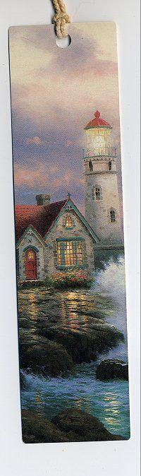 Thomas Kinkade #1 Thomas Kinkade Art, Thomas Kinkade Christmas, Sacramento, Kinkade Paintings, Thomas Kincaid, Art Thomas, Book Markers, Painted Cottage, Famous Art
