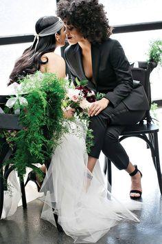 Welcome to Get Kinky! — elixhermagazine: This beautiful QWOC wedding...