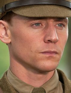 Tom Hiddleston (War Horse). Love that they didn't airbrush this! He just looks real. :)