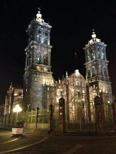 Bellisima Catedral de Puebla