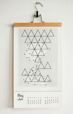 This artwork calendar was made by Benjamin Koh Ju Ren in Singapore: http://www.pepper-cinnamon.net/Year-of-Astronomy