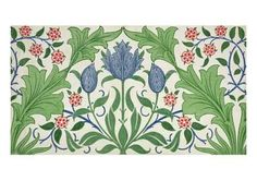 Floral Wallpaper Design Giclee Print by William Morris at Art.com