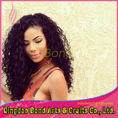 57.68$  Watch now - http://alihcj.worldwells.pw/go.php?t=32682902000 - Glueless Full Lace Human Hair Wigs For Black Women Brazilian Virgin Hair Wigs Kinky Curly Beyonce Lace Front Wigs With Baby Hair 57.68$