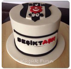 Beşiktaş Cake Party Themes, Cupcake, Birthday Cake, Cakes, Desserts, Food, Pies, Birthday, Tailgate Desserts