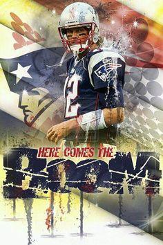 Tom Brady - New England Patriots www.realdealsontheweb.com www.advocare.com/130433273