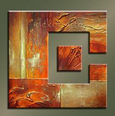 cuadros decorativos - Buscar con Google Diy Wall Art, Diy Art, Canvas Wall Art, Mixed Media Artwork, Encaustic Art, Modern Artists, Colorful Paintings, Light Painting, Texture Art