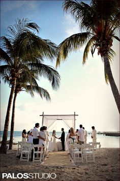 A small sea side wedding. Could it be any better?