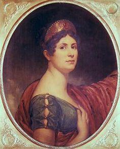 Portrait de l'Impératrice Joséphine. Wonderful sleeve.