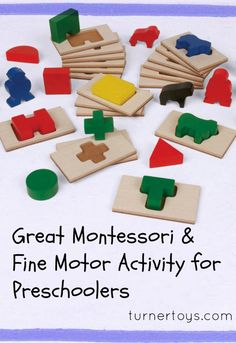 Great Montessori Learning & Fine Motor Activity for Preschoolers - Turner Toys & Hobbies