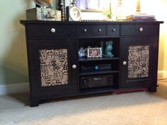 Rich Dark Wood And Traditional Styling Make STORNAS Buffet Cabinet The  Perfect Setting For Wine And Cheese. | Home For The Holidays | Pinterest |  Buffet ...