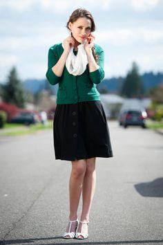 1 Dress, 100 Days {Day 20} misselainious.com | warmblankets.org