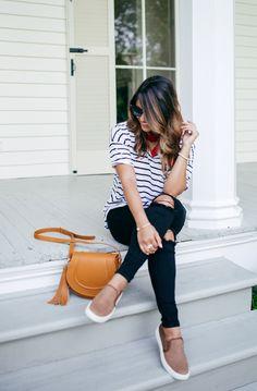 Stripes and bandanas