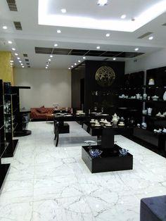 modern showroom interior design of versace rosenthal by 3da best