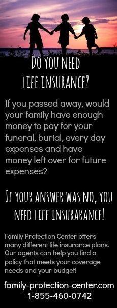 Do you need life insurance? #lifeinsurancebuyingtips #LifeInsuranceFacts