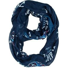 1 Piece Nfl Titans Scarf 70 X 25 Inches, Football Themed Woman Accessory Sports Patterned, Team Logo Fan Merchandise Athletic Team Spirit Fan Blue Red Grey, Polyester - 1 piece Nfl Tennessee Titans Scarf 70 x 25 Inches, Football Themed Woman Accessory Sports Patterned, Team Logo Fan Merchandise Athletic Team Spirit Fan Blue Red Grey, polyester - Includes: 1 Nfl scarf - dogs,cats - The 100 percent polyester sheer scarf features a repeat logo print.